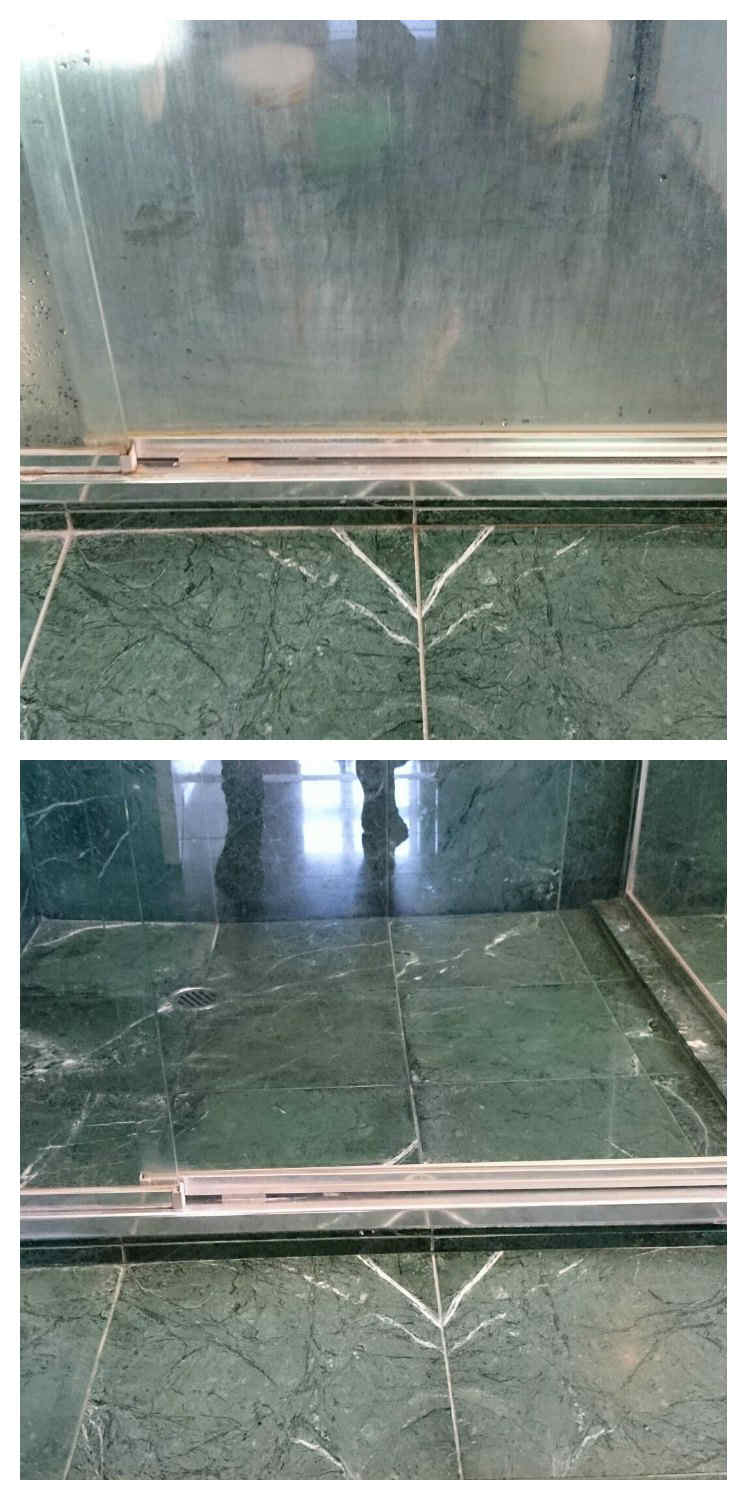 Our shower screen protection will maintain your shower glass - Shower glass protection ...