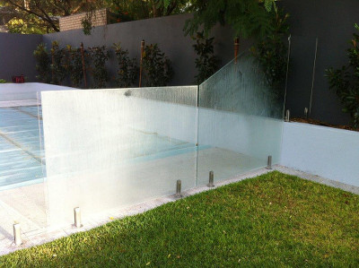 Glass Fencing Balustrade Surface Protection Coating